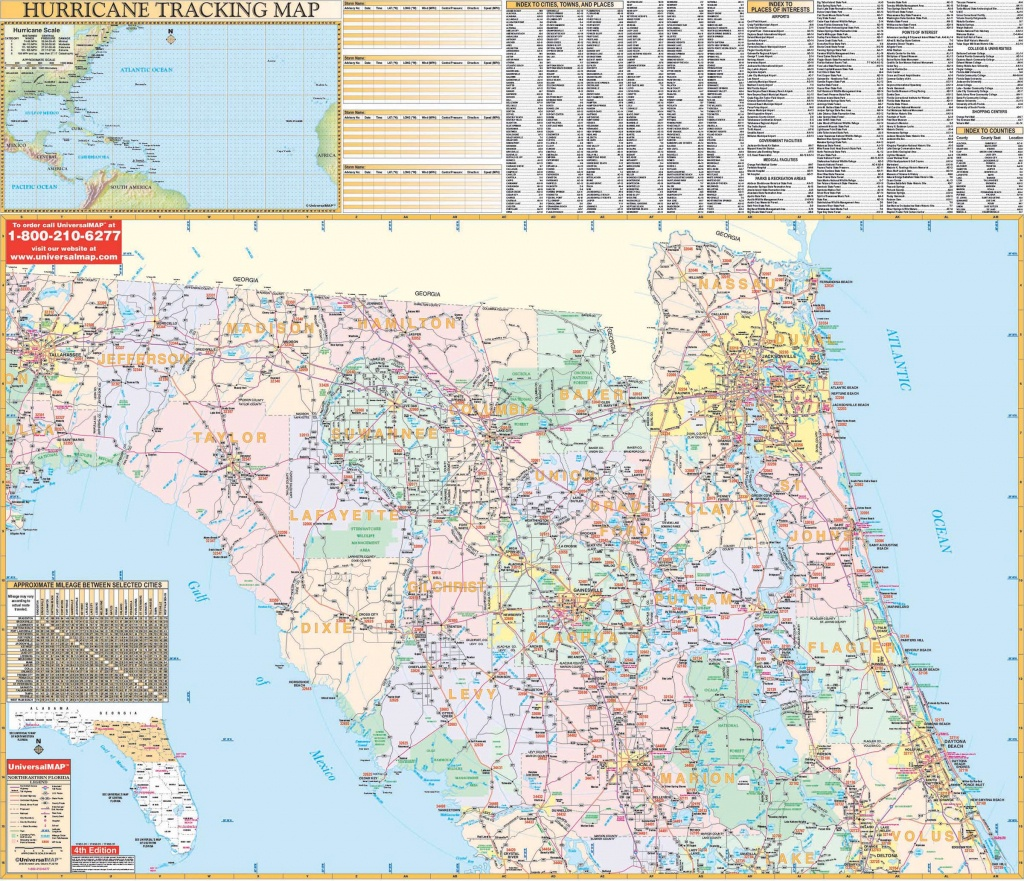 Florida State Northeast Regional Wall Map – Kappa Map Group - Florida North Map