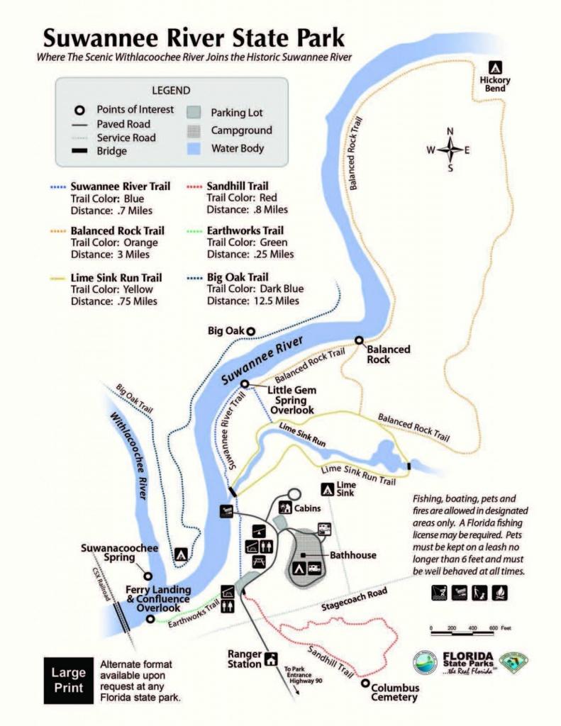 Florida State Park Map - Florida State Parks Map