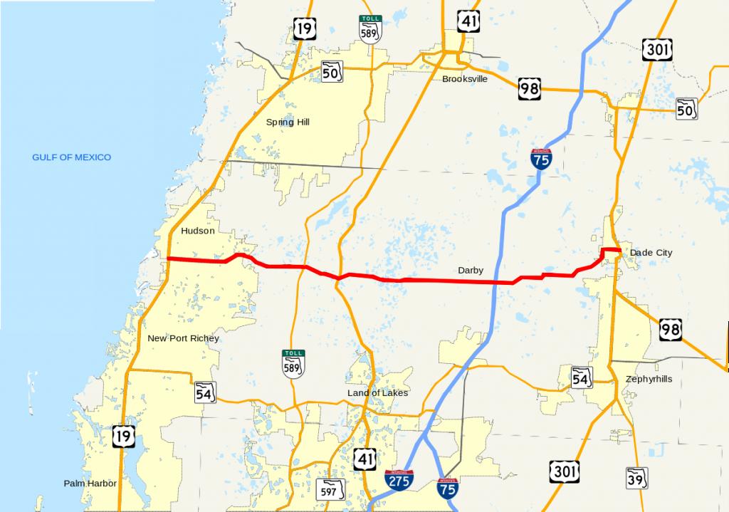 Florida State Road 52 - Wikipedia - Google Maps Hudson Florida