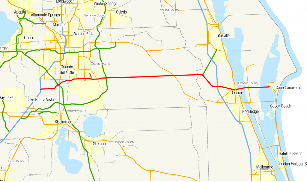 Florida State Road 528 - Wikipedia - Clear Lake Florida Map