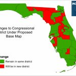 Florida Supreme Court Rules In Favor Of Congressional Maps Drawn   Florida Election Districts Map