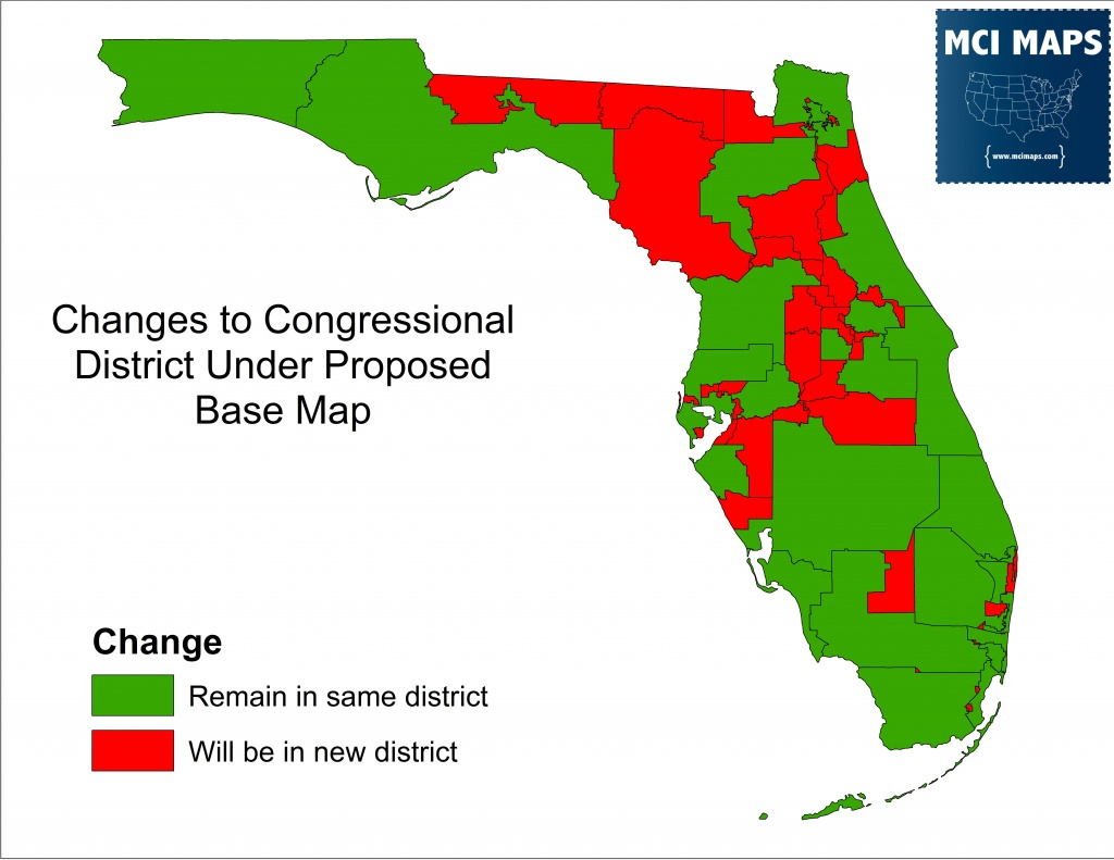 Florida Supreme Court Rules In Favor Of Congressional Maps Drawn - Florida Election Districts Map
