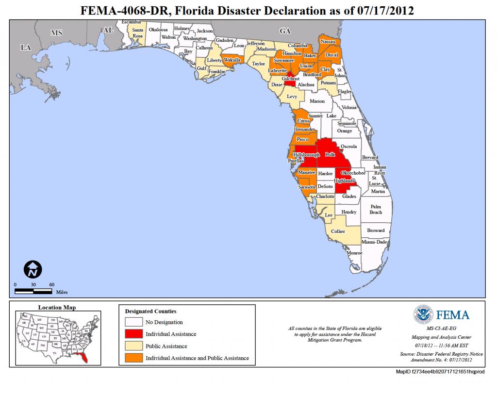 Florida Tropical Storm Debby (Dr-4068) | Fema.gov - Fema Flood Maps Brevard County Florida