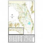 Florida Zip Code Wall Map - The Map Shop - Florida Zip Code Map