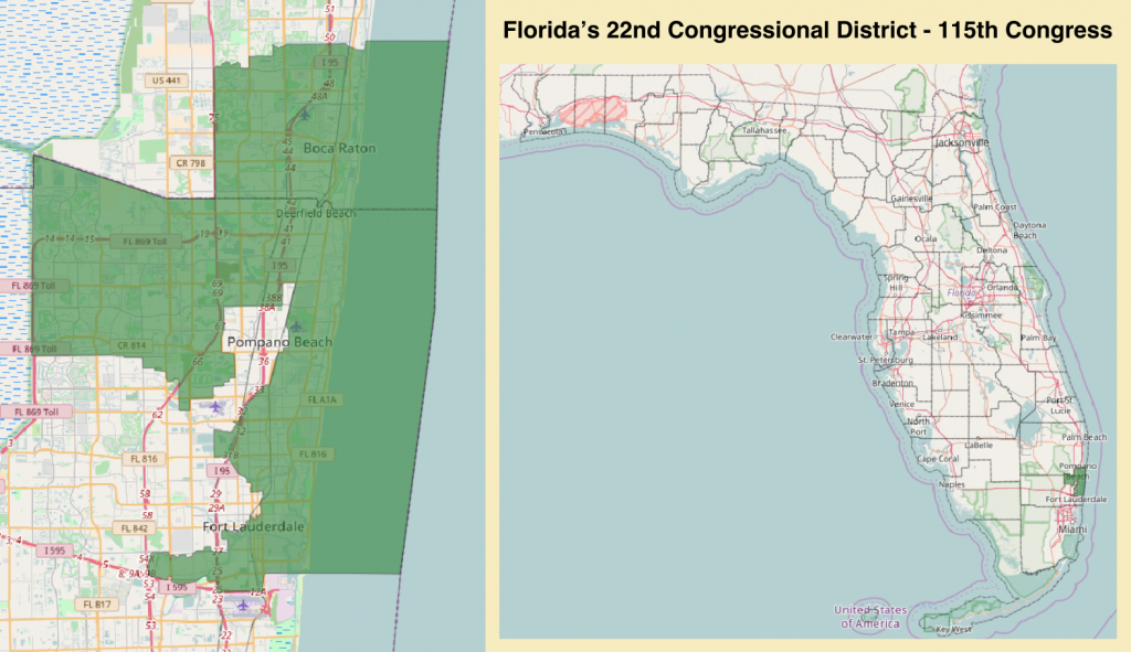 Florida's 22Nd Congressional District - Wikipedia - Florida House District 15 Map