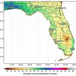 Florida's Climate And Weather   Florida Weather Map With Temperatures