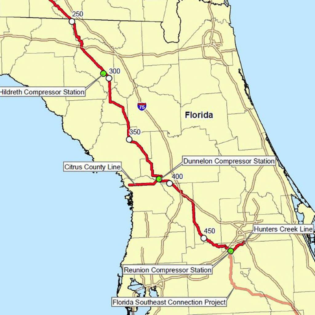 Florida's Congressional Establishment Dips Toes Into Grassroots Anti - Florida Natural Gas Pipeline Map