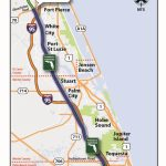 Florida's Turnpike   The Less Stressway   Florida Map With Port St Lucie