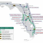 Florida's Turnpike   The Less Stressway   Florida Orange Groves Map