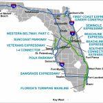 Florida's Turnpike - The Less Stressway - Lake Worth Florida Map