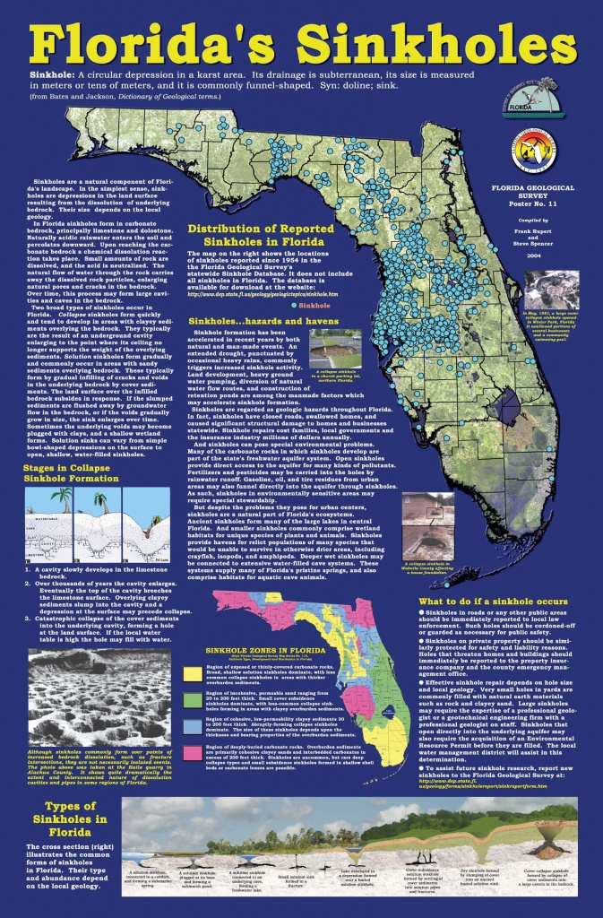 Florida+Sinkhole+Map | Florida Sinkhole Map | Florida | Ocala - Florida Sinkhole Map By County