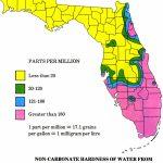 Floripedia: Water Hardness - Florida Water Hardness Map