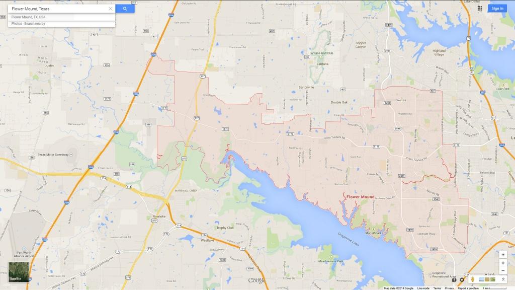 Flower Mound Texas Map - Flower Mound Texas Map