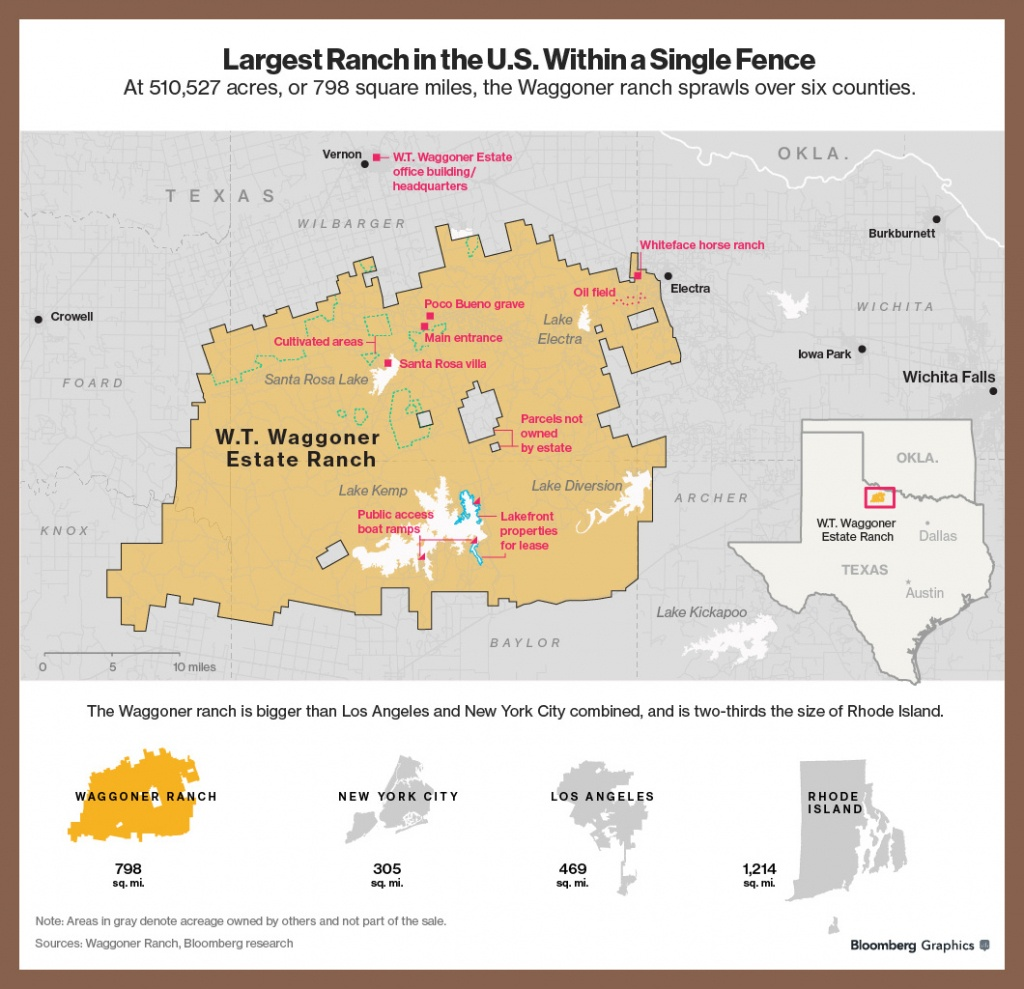 For $725 Million, You Can Buy A Texas Ranch That's The Size Of A - Texas Land Value Map