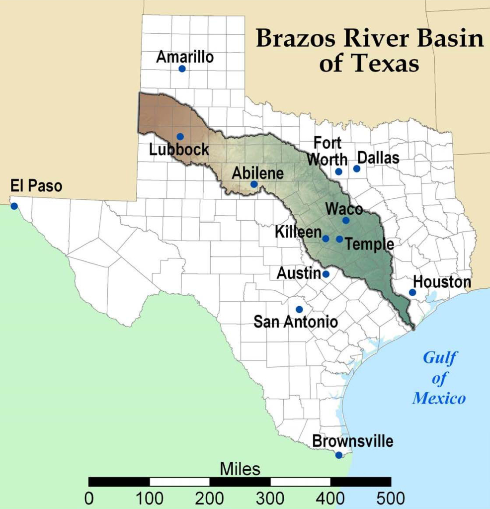Fort Bend County Waterways – Fort Bend County Hs&em - Texas Waterways Map