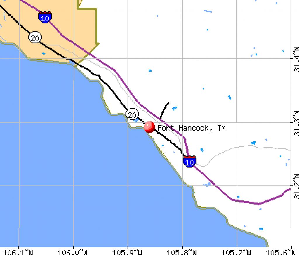 Fort Hancock, Texas (Tx 79839) Profile: Population, Maps, Real - Fort Hancock Texas Map