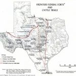 Forts And Cattle Trails | All Things Texas In 2019 | Texas, Texas   Texas Forts Trail Map