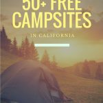 Free Camping In California   Sites You Can Stay At For Free   Free Camping California Map