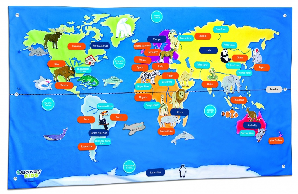 Free Country Maps For Kids A Ordable Printable World Map With - Kid Friendly World Map Printable