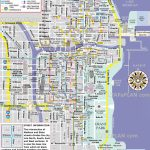 Free Inner City Magnificent Mile Shopping Malls Main Landmarks Great   Map Of Chicago Attractions Printable