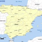 Free Maps Of Spain – Mapswire   Printable Map Of Spain With Cities