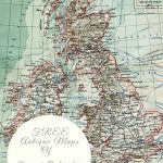 Free Pintable Old Maps Of Northern Europe Including Great Britain - Printable Map Of Northern Ireland