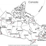 Free Printable Map Canada Provinces Capitals Google Search New Blank - Free Printable Map Of Canada