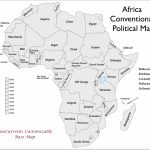 Free Printable Map Of Africa | Sitedesignco   Free Printable Political Map Of Africa