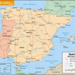 Free Printable Map Of Spain   Printable Map Of Spain With Cities   Printable Map Of Spain With Cities