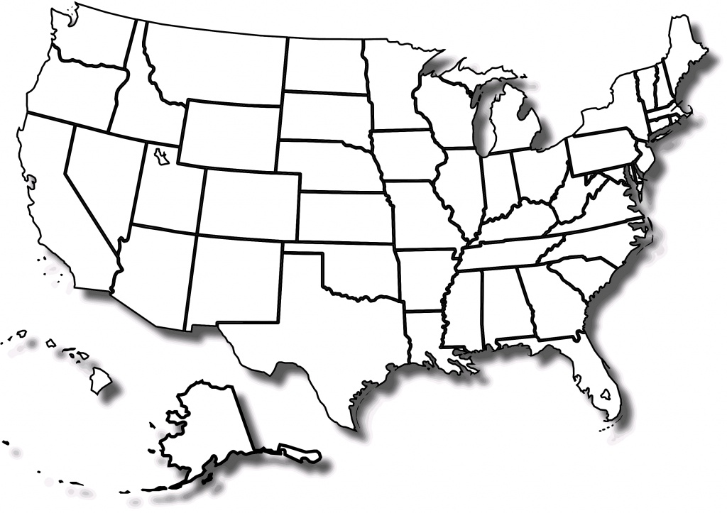 Free Printable Map Of The United States With State Names And Travel - Free Printable United States Map With State Names And Capitals