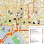 Free Printable Map Of Washington D.c. Attractions. | Washington Dc   Printable Walking Map Of Washington Dc