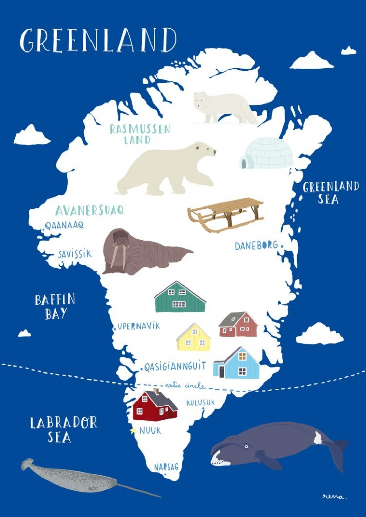 Free Printable Passport! | Homeschool Geography For Kids | Greenland - Printable Map Of Greenland