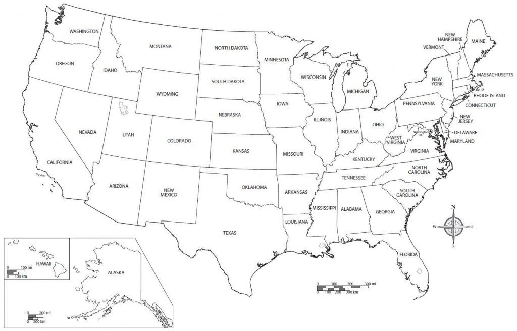 Free Printable Us Map - Free Printable Usa Map (Northern America - Free Printable Usa Map