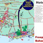 Freeport Hotels Map   Map Of Florida And Freeport Bahamas