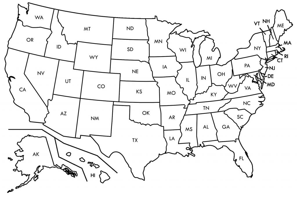 Fresh Free Printable Us Map Blank Usamap | Beykoz-Kurye - Printable Usa Map Blank