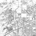 Frisco, Texas - Area Map - Light | Hebstreits Sketches - Frisco Texas Map