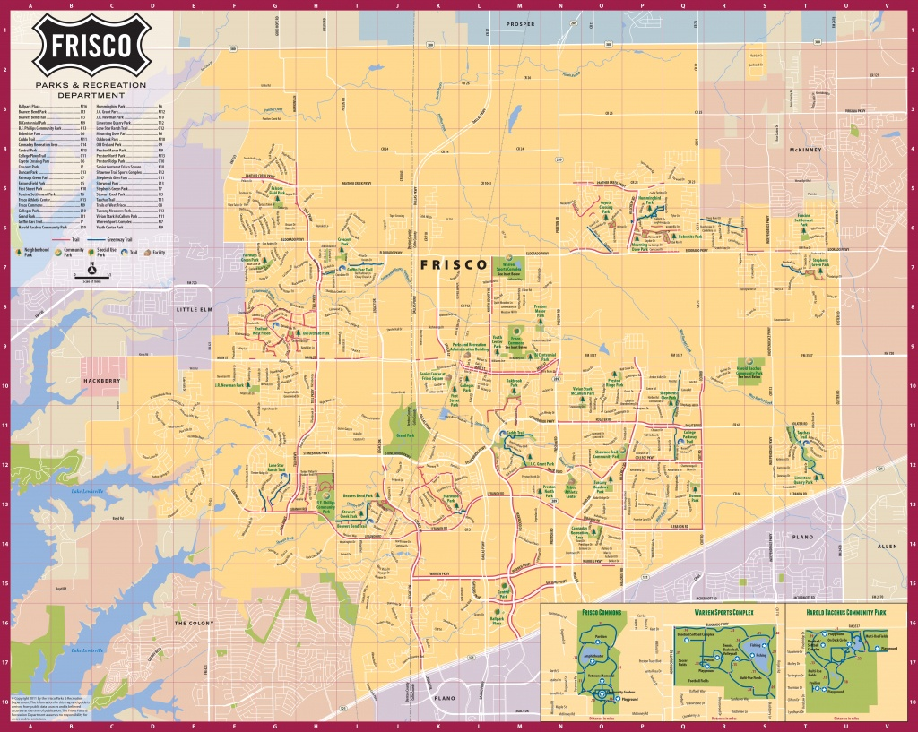 Frisco Texas Official Convention & Visitors Site - Map Of Frisco, Texas - Map Of Texas Showing Frisco