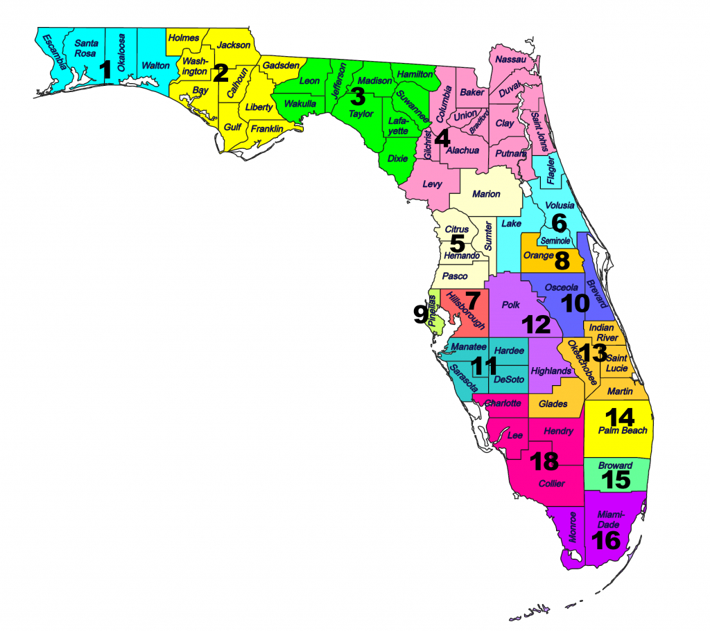 Fsma District Maps - Florida School Districts Map