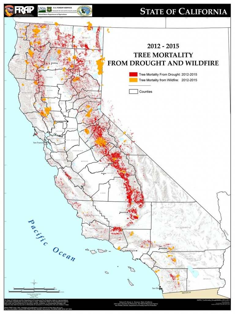 Fuel For The Fire — Reflections On Water - California Department Of Forestry And Fire Protection Map