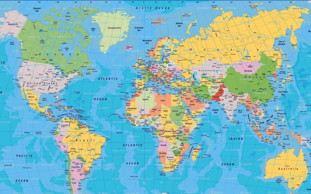 Full World Map #1 | Shanzy | World Map Wallpaper, World Political - Free Printable World Map Poster