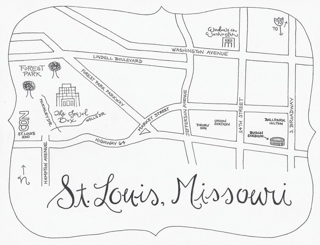 Fun Hand Drawn Map For Wedding Directionsi Like This Idea! | From - Printable Map Directions For Invitations