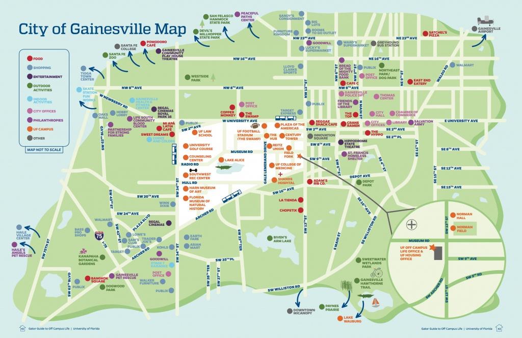 Gainesville Florida Area Map Stock Vector (Royalty Free) 144494338 - Map Of Gainesville Florida And Surrounding Cities