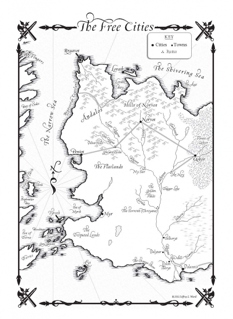 Game Of Thrones Map Pdf - Google Search   Cover Design   Game Of - Game Of Thrones Printable Map