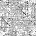 Garden Grove, California – Area Map – Light | Hebstreits Sketches – Where Is Garden Grove California On The Map