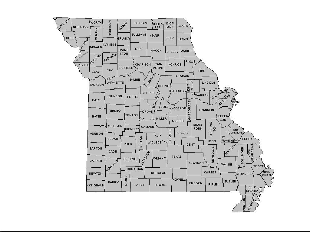 Gasconade County Map, Gasconade County Plat Map, Gasconade County - Texas County Mo Property Map