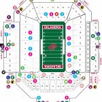 Gaylord Family   Oklahoma Memorial Stadium   The Official Site Of   Texas Memorial Stadium Map