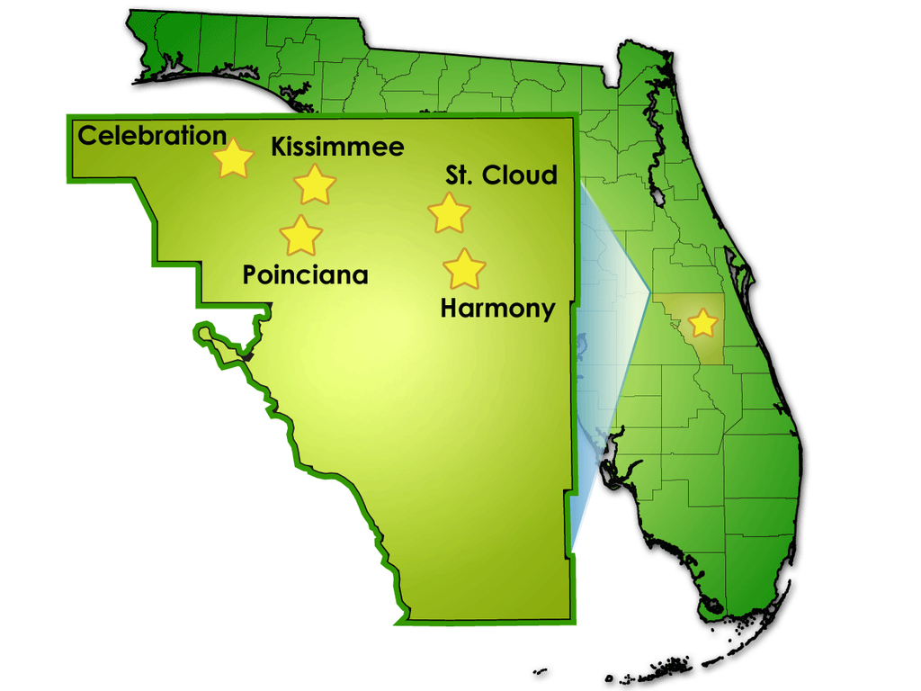 General Information Concerning Osceola County - Flood Zone Map Osceola County Florida
