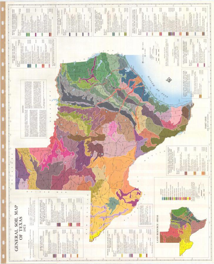 Texas Soil Map