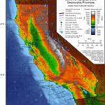 Geography Of California   Wikipedia   California Terrain Map