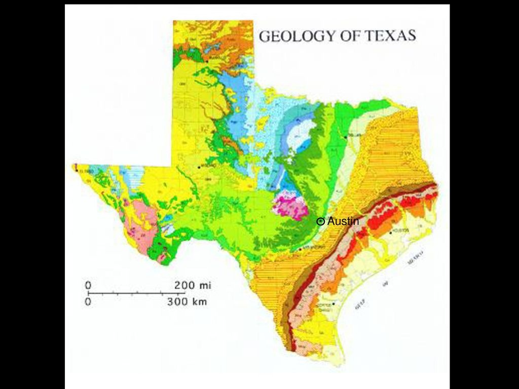 Geologic History Of Texas: The Making Of Texas Over 1.5 Billion - Texas Geologic Map Google Earth